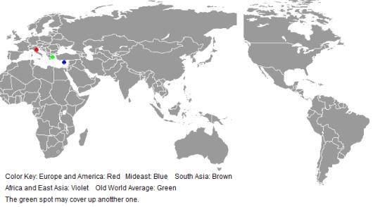Map plot
