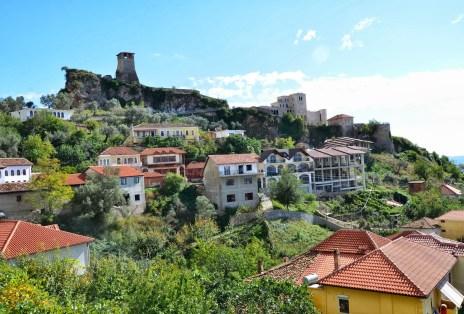 Krujë Castle in Krujë, Albania
