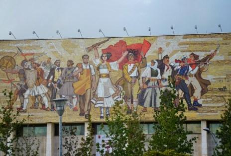 Muzeu Historik Kombëtar in Tiranë, Albania