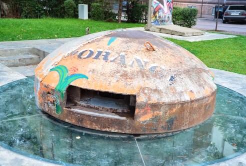 Postblloku Memorial – a bunker in Tiranë, Albania