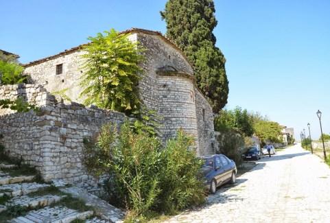 Evangelistria Church in Berat, Albania