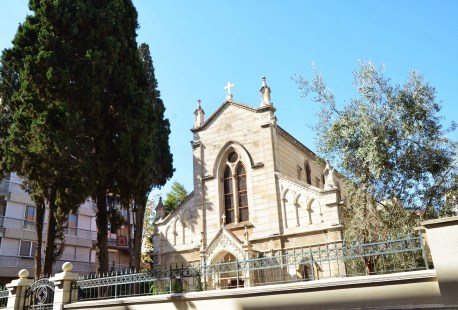 St. Helen's Catholic Church in Karşıyaka, Izmir, Turkey
