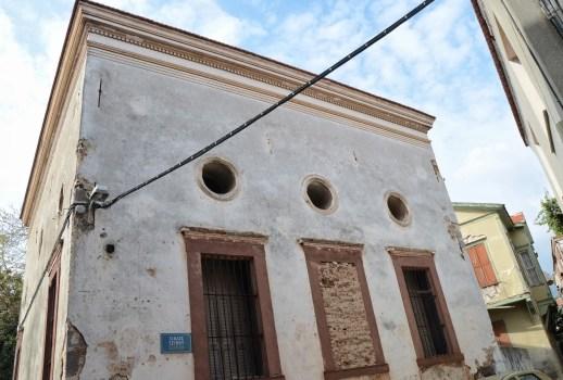 Bayraklı Camii in Kastro, Chios, Greece
