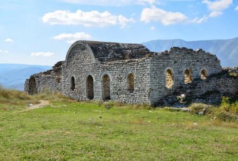 Acropolis in Berat, Albania