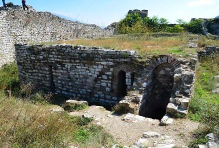 Byzantine cistern in Berat, Albania