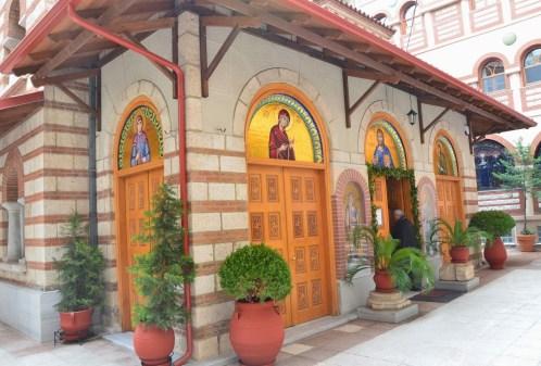 Monastery of St. Theodora in Thessaloniki, Greece