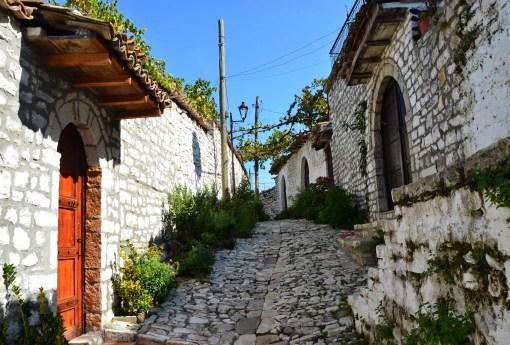 Berat Castle in Berat, Albania