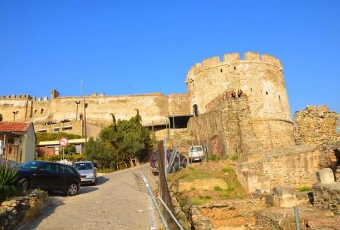 City walls in Thessaloniki, Greece