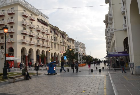 Aristotelous in Thessaloniki, Greece