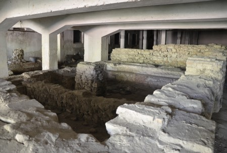 Roman baths in Durrës, Albania