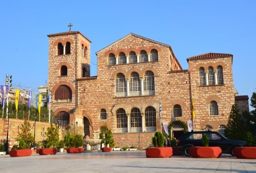 Church of St. Dimitrios in Thessaloniki, Greece