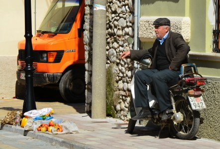 Rruga Gjuhadol in Shkodër, Albania