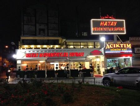 Hatay Medeniyetler Sofrası in Aksaray, Istanbul, Turkey
