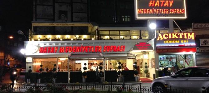 Hatay Cuisine in Istanbul