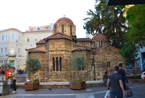Kapnikarea in Athens, Greece