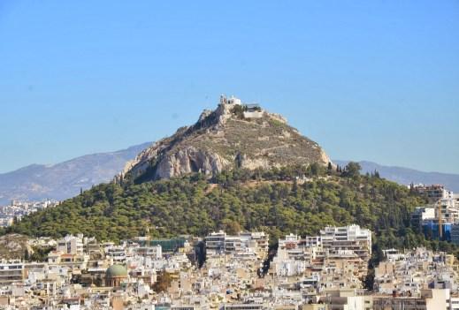 Lykavittos in Athens, Greece