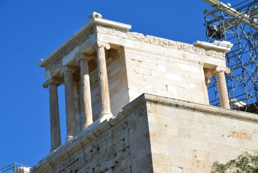 Temple of Athena Nike at the Acropolis, Athens, Greece