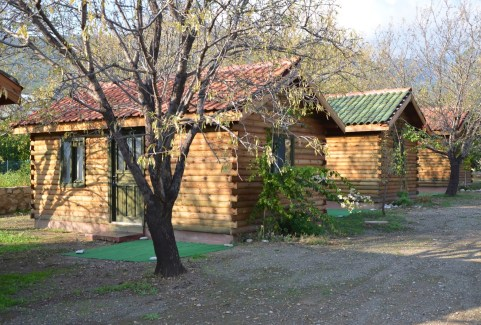 Gülbahar Pansiyon bungalows at Ovabükü, Datça, Turkey
