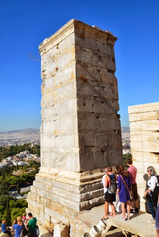 Monument of Agrippa at the Acropolis, Athens, Greece