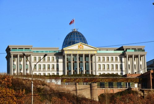 Presidential Palace in Tbilisi, Georgia