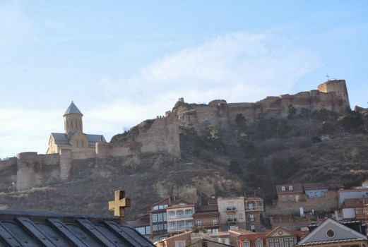 Narikala Fortress in Tbilisi, Georgia