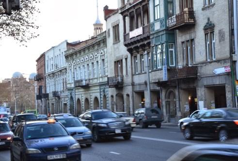 Kostava Street in Tbilisi, Georgia