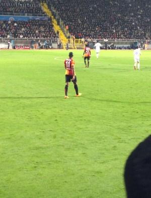 Didier Drogba at Kasımpaşa vs Galatasaray at Recep Tayyip Erdoğan Stadyumu, İstanbul, Turkey