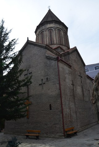 Jvaris Mama Church in Tbilisi, Georgia