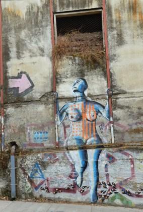 Graffiti on Almirante Montt in Valparaíso, Chile