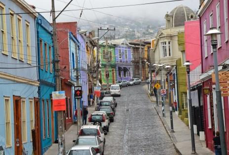 Cerro Concepción in Valparaíso, Chile