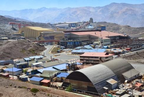 Colón Crushing Plant, Chile