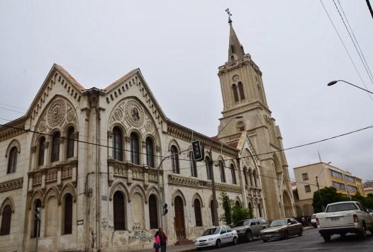 Iglesia de los Sagrados Corazones in Valparaíso, Chile