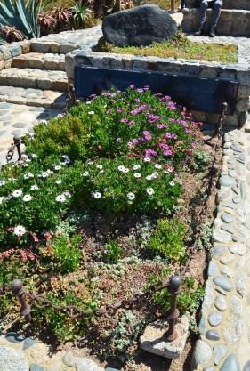 Pablo Neruda's grave at Isla Negra, Chile