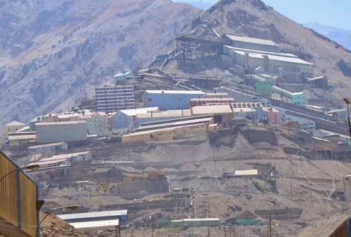 Sewell Mining Town, Chile