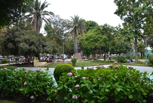 Plaza José Francisco Vergara in Viña del Mar, Chile