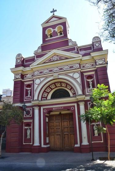 Iglesia de la Veracruz in Santiago de Chile