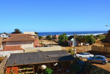 View from Hostal Sirena in Pichilemu, Chile