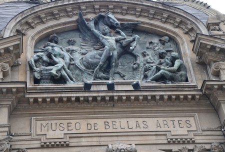 Museo Nacional de Bellas Artes in Santiago de Chile