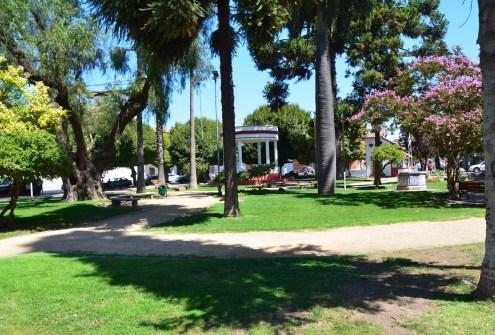 Plaza de Armas in Santa Cruz, Chile