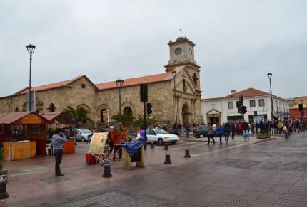 Iglesia de San Agustín in La Serena, Chile