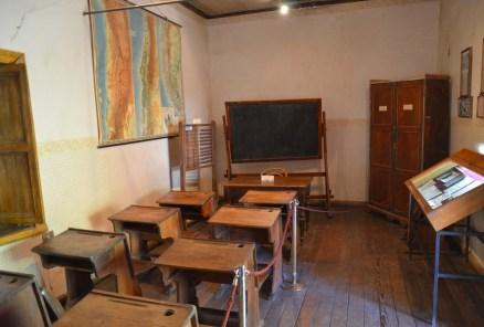 Gabriela Mistral's School in Montegrande, Valle del Elqui, Chile