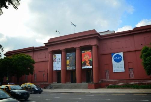 Museo Nacional de Bellas Artes in Buenos Aires, Argentina