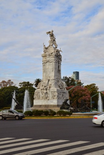 Monumento de los Españoles in Palermo, Buenos Aires, Argentina