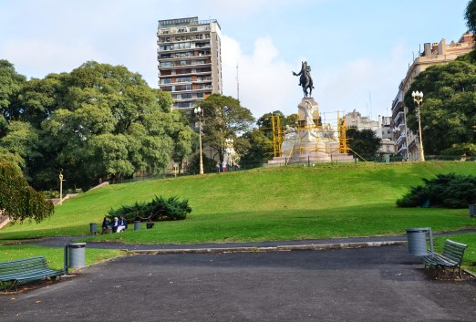 Plaza Mitre in Buenos Aires, Argentina