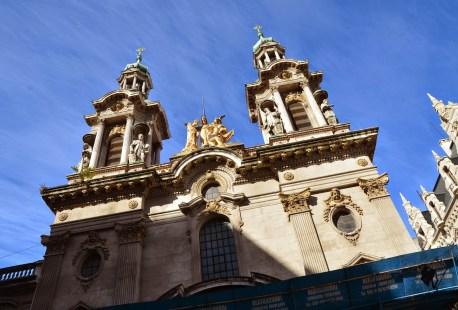 Basílica de San Francisco in Buenos Aires, Argentina