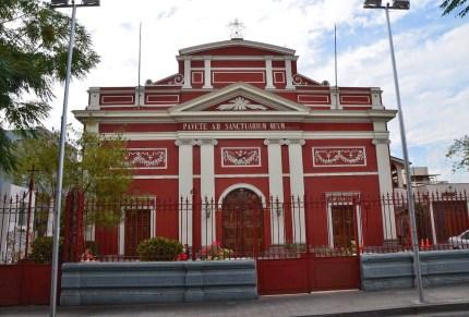 Iglesia de los Capuchinos in Barrio Yungay, Santiago de Chile