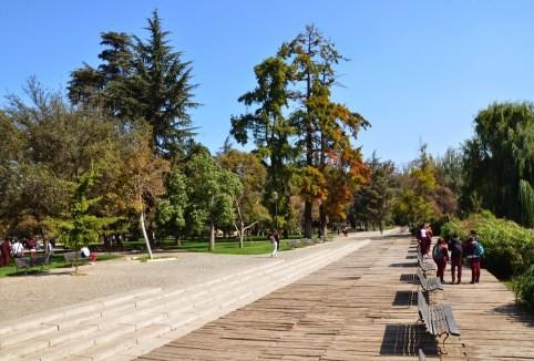 Parque Quinta Normal in Santiago de Chile