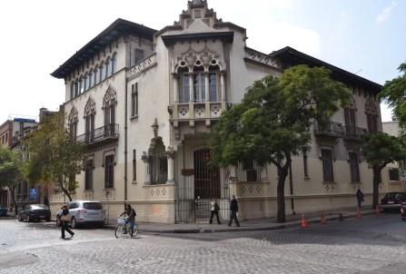 Calle Cienfuegos in Barrio Brasil, Santiago de Chile