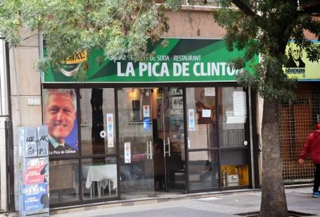 La Pica de Clinton in Santiago de Chile