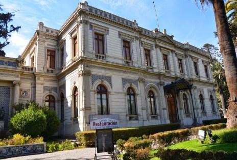 Palacio Cousiño in Barrio Dieciocho, Santiago de Chile